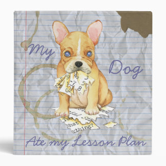 My French Bulldog Ate My Lesson Plan Binder