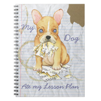 My French Bulldog Ate My Lesson Plan Journal