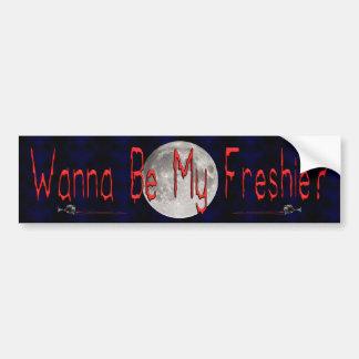 My Freshie Car Bumper Sticker