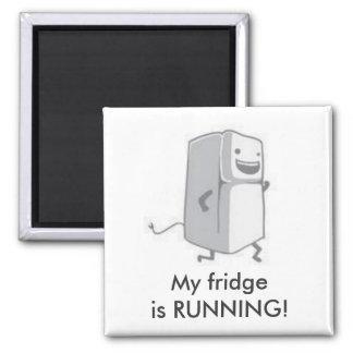 My fridge is running magnet