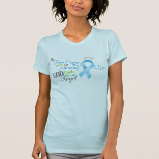 My Friend An Angel - Prostate Cancer T-Shirt