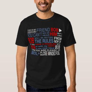 My Friend Bob (Dark) T Shirt