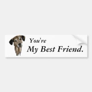 My Friend Bumper Sticker