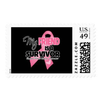 My Friend is a Survivor - Breast Cancer Postage