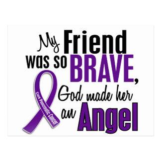 My Friend Is An Angel Pancreatic Cancer Post Card