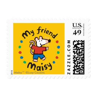 My Friend Maisy Birthday Postage Stamp