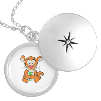 My Friend Round Locket Necklace