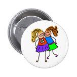 My Friend Pinback Button