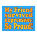 My Friend Survived Depression: So Proud! Postcards