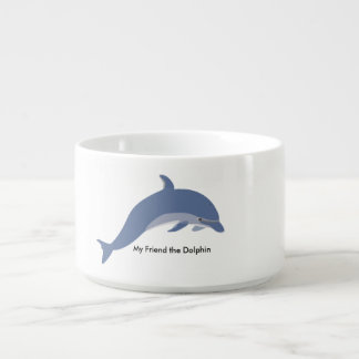 """My Friend the Dolphin"" Cool Bowl(Chili Bowl) Chili Bowl"