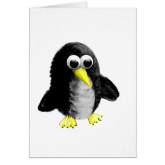 My friend the penguin card