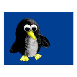 My friend the penguin postcard