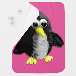 My friend the penguin swaddle blanket