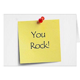 "MY FRIEND ""YOU ROCK"" AND I AM ALWAYS HERE FOR YOU CARD"
