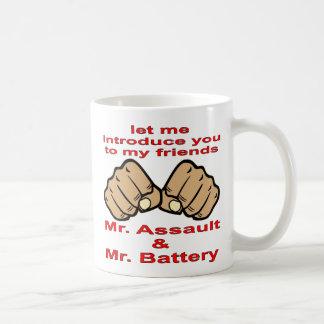 My Friends Mr. Assault & Mr. Battery Coffee Mug