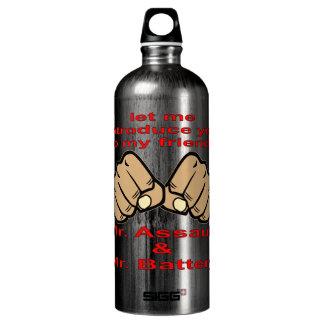 My Friends Mr. Assault & Mr. Battery Water Bottle