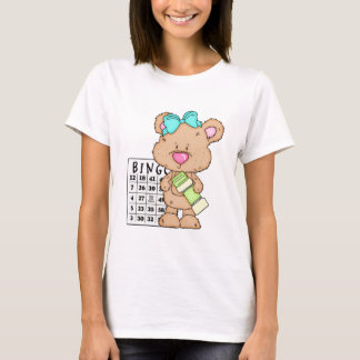 My Fun Bingo Bear ts-hirt T-Shirt