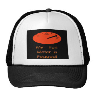My Fun Meter is Pegged! Trucker Hat