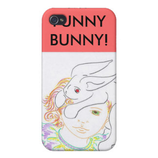 MY FUNNY BUNNY! CASE FOR iPhone 4