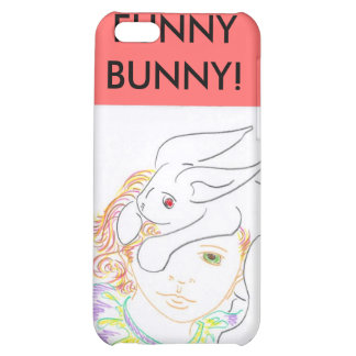 MY FUNNY BUNNY! CASE FOR iPhone 5C