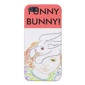 MY FUNNY BUNNY! CASE FOR iPhone SE/5/5s