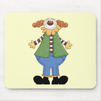 My Funny Circus Clown Mouse Pad