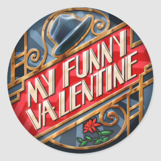 My Funny Valentine, Sticker