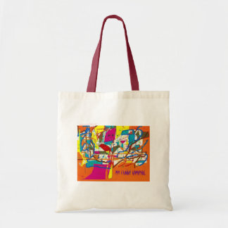My Funny Vampyre Canvas Bags