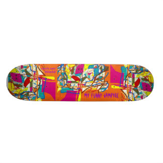 My Funny Vampyre Skateboard Deck