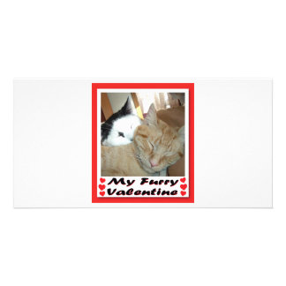 My Furry Valentine Card