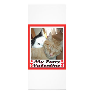 My Furry Valentine Rack Card