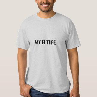 MY FUTURE, MY PAST basic t-shirt