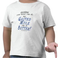 My Gaited Mule Can Do It Better Tee Shirt