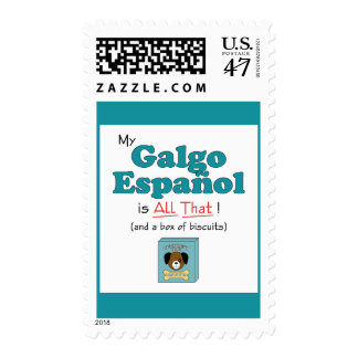 My Galgo Espanol is All That! Postage