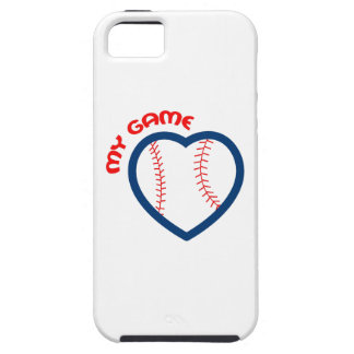 MY GAME BASEBALL iPhone 5 CASES
