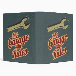 My Garage My Rules Binder