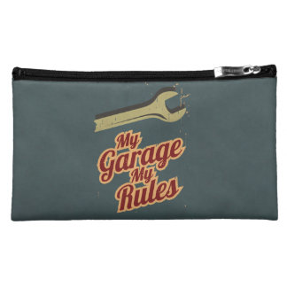 My Garage My Rules Cosmetic Bag
