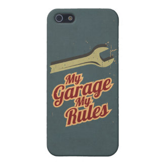 My Garage My Rules Cover For iPhone SE/5/5s