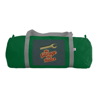 My Garage My Rules Duffle Bag