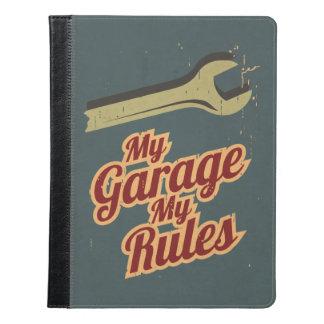 My Garage My Rules iPad Case