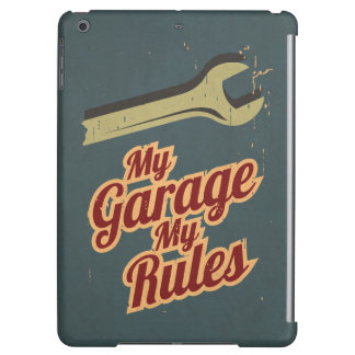 My Garage My Rules Cover For iPad Air