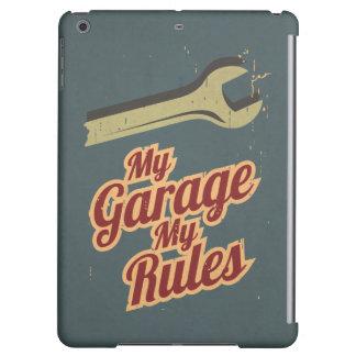 My Garage My Rules iPad Air Covers