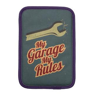 My Garage My Rules iPad Mini Sleeve