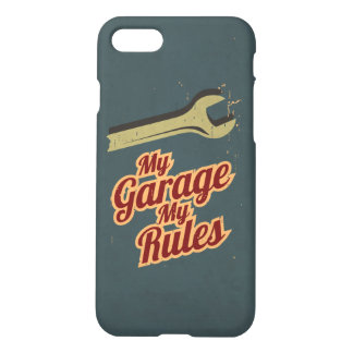 My Garage My Rules iPhone 8/7 Case
