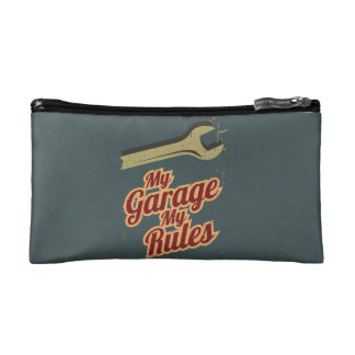 My Garage My Rules Makeup Bag