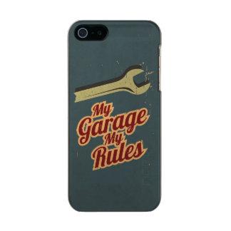 My Garage My Rules Metallic iPhone SE/5/5s Case