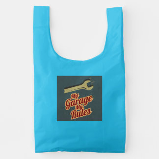 My Garage My Rules Reusable Bag