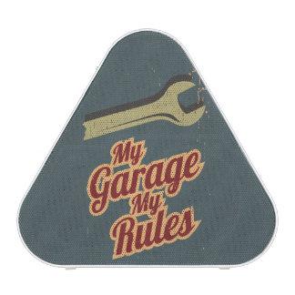 My Garage My Rules Speaker