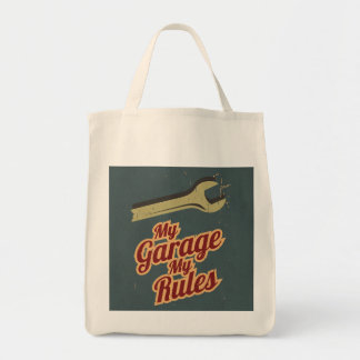 My Garage My Rules Tote Bag