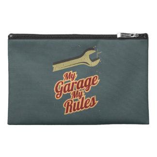 My Garage My Rules Travel Accessory Bag